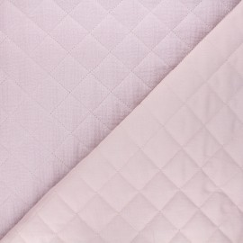 Quilted double gauze cotton fabric - rose water Kami maxi x 10cm