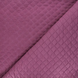 Quilted double gauze cotton fabric - fig Kami mini x 10cm