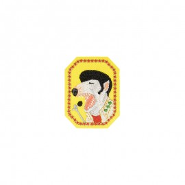 Famous animals Iron-on patch - Elvis Presley