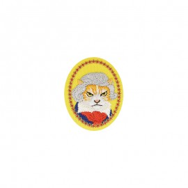 Famous animals Iron-on patch - Beethoven