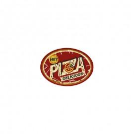 Thermocollant Retro food - Pizza