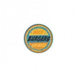Thermocollant Retro food - Burgers