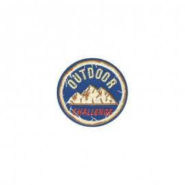 Retro trip Iron-on patch - Outdoor