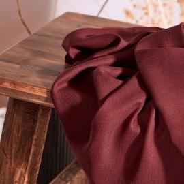 Viscose fabric Atelier Brunette - Dobby Rust x 10cm