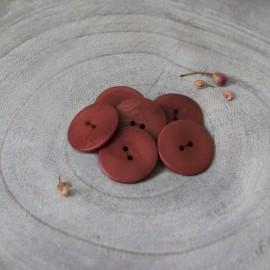 Bouton Corozo Palm Atelier Brunette - Rust