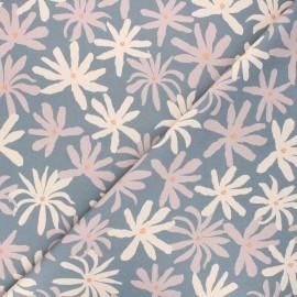 Cotton Dashwood Studio fabric - Woodland notions - grey Daisy x 10cm