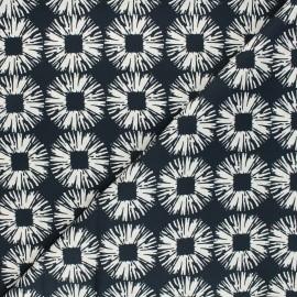 Cotton Dashwood Studio fabric - Woodland notions - black Iris x 10cm