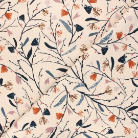 Tissu coton Dashwood Studio Woodland notions - Equinoxe beige x 10cm