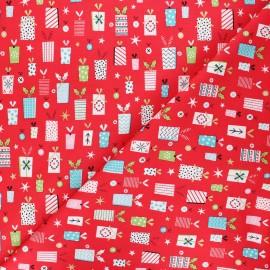 Cotton Dashwood Studio fabric - Forest friends - Cadeaux x 10cm