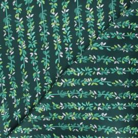 Tissu coton Dear Stella Lily pads - Forest - vert x 10cm