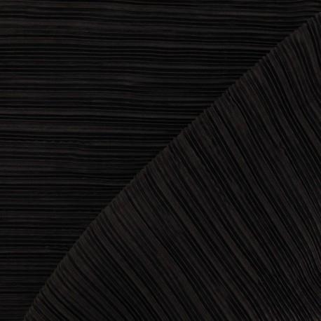 tissu pliss marron x 10cm ma petite mercerie. Black Bedroom Furniture Sets. Home Design Ideas