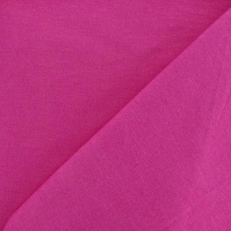 Lycra polyester Gabardine Fabric - Fuchsia x 10cm