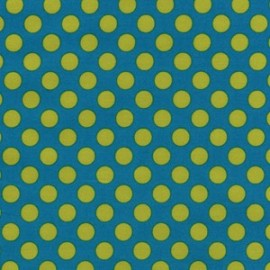 Fabric Ta Dot Lagoon x 10cm