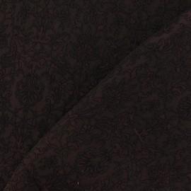 Royal Damask Fabric - Brown x 10cm