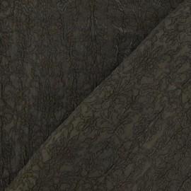 Tissu Damassé Royal militaire x 10cm