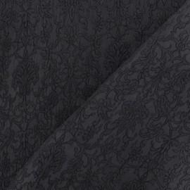 Royal Damask Fabric - Grey x 10cm
