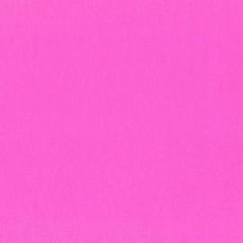Tissu coton ENDUIT neon PINK D x 10cm