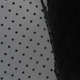 Plumetis Tulle - Black x 10cm