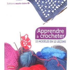 """Livre """"Apprendre à crocheter"""""""