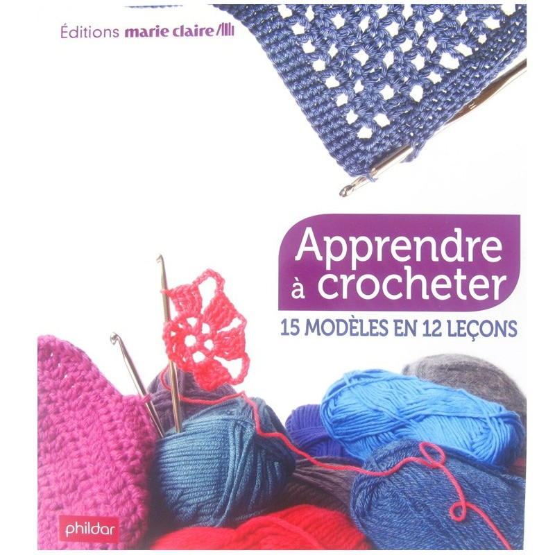livre apprendre crocheter ma petite mercerie. Black Bedroom Furniture Sets. Home Design Ideas