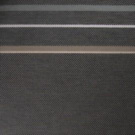 Tissu toile Rue du Bac gris (180cm) x 10cm
