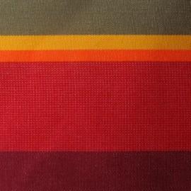 Toile Collioure rouge (180cm) x 10cm