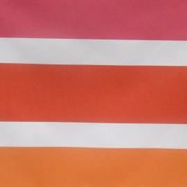 Tissu toile feu jaune/orange (180cm) x 10cm