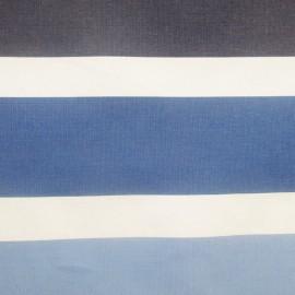 Tissu toile eau violet/bleu (180cm) x 10cm