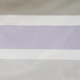♥ Coupon tissu 180 cm X 180 cm ♥ toile air beige/gris (180cm)