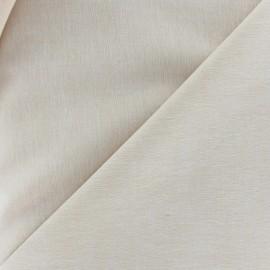 Tissu Chambray beige x 10cm