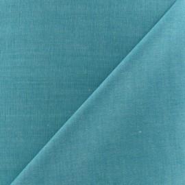 Chambray Fabric - Duck Blue x 10cm
