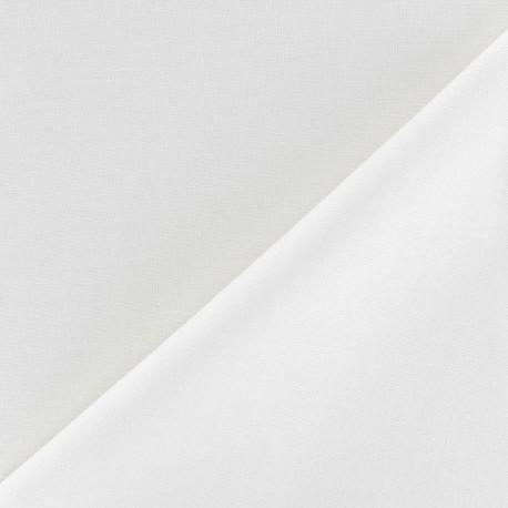 Tissu Coton uni écru x 10cm