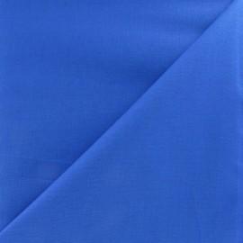 Tissu Coton uni navy x 10cm