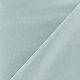 Tissu Coton uni vert d'eau x 10cm