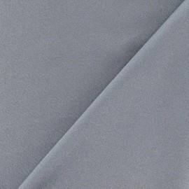 Lycra glossy fabric - grey x 10cm