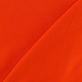 Jersey Fabric - Orange x 10cm