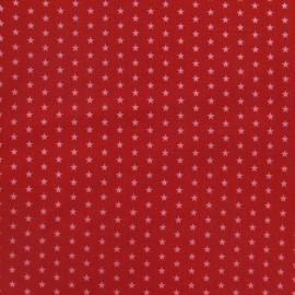 Tissu Etoiles Froufrou Rubis éclatant A x 10cm