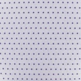 Tissu Etoiles Froufrou Violet Sage B x 10cm