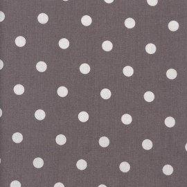 Big Dots Fabric - Mauve x 10cm