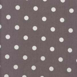 Tissu coton Big Dots mauve x 10cm