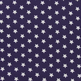 Tissu étoiles Magic aubergine x 10cm