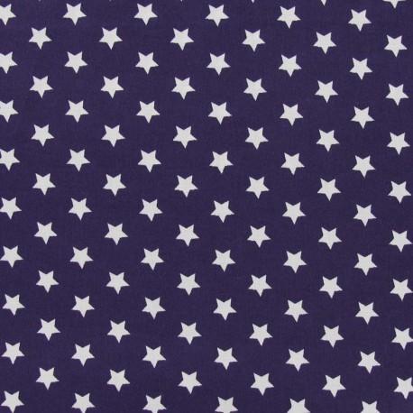 Magic Stars Fabric - Eggplant x 10cm