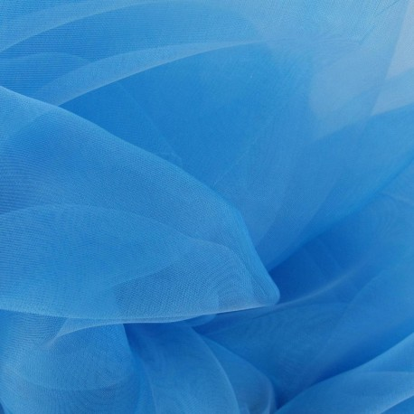 Organza Fabric - Turquoise x 50cm
