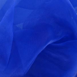 Tissu Organza bleu roy x 50cm