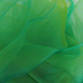 Organza Fabric - Green x 50cm