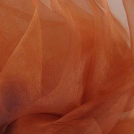 Tissu Organza cuivre x 50cm