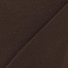 Oeko-Tex Jersey Fabric - Brown x 10cm