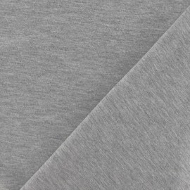 Oeko-Tex Jersey Fabric - Pearl Grey x 10cm