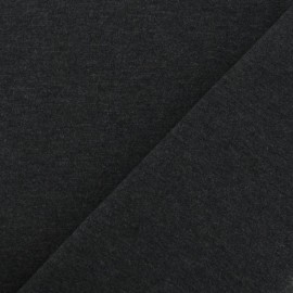 Jersey Fabric - Anthracite x 10cm