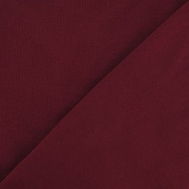 Oeko-Tex Jersey Fabric - Dark Red x 10cm